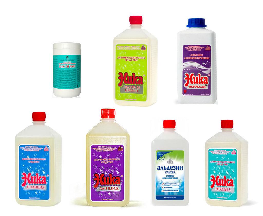 Бытовая химия, Чистящие средства: Дезинфицирующие средства в ОбщепитСнаб, ООО