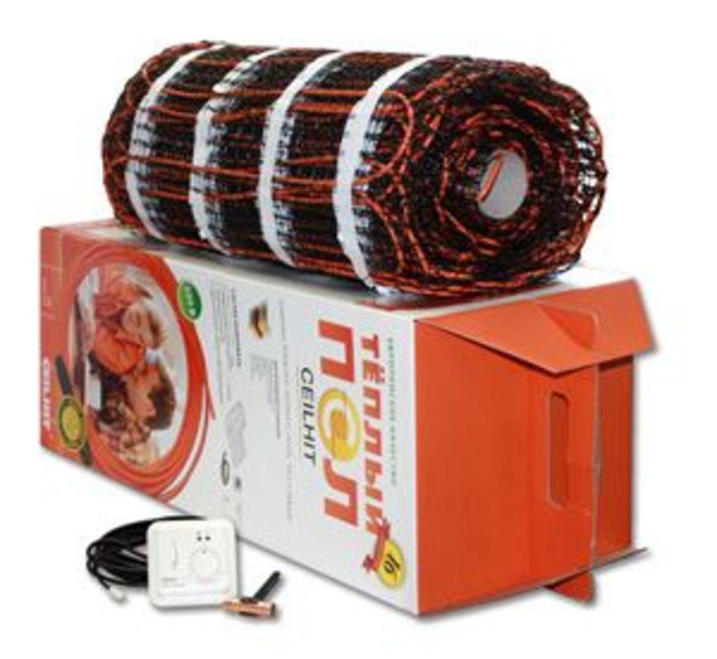 Маты нагревательные Ceilhit (Испания): MAT 22PSVD/180-1260 (U=220В - 1265) S=7.1 м² в Теплолюкс-К, инженерная компания