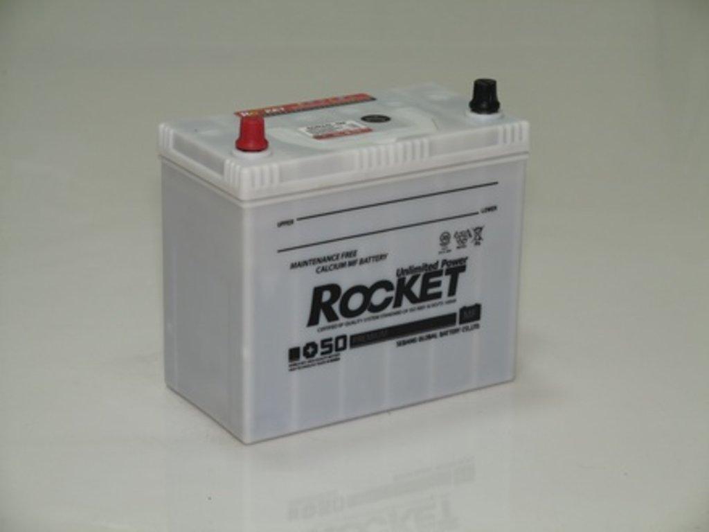 Аккумуляторы автомобильные: ROCKET MF SUPER +50 50 (65 B 24) RЙ в Мир аккумуляторов