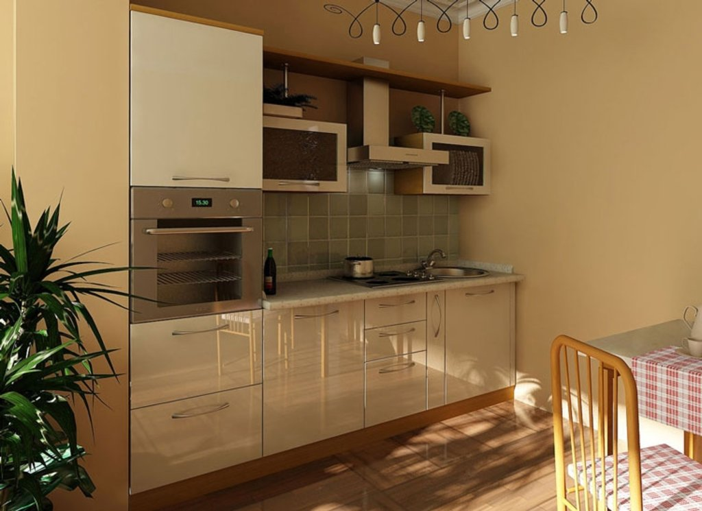 Кухня на заказ: Кузня на заказ Модерн Лукреция в Студия Мебели