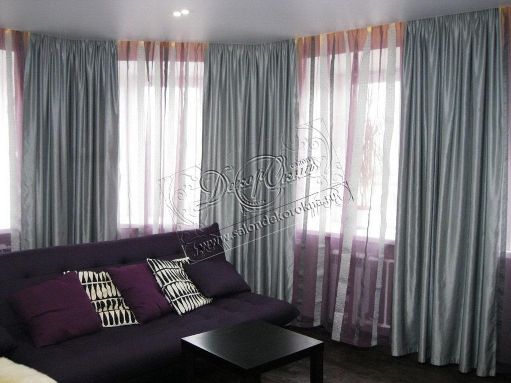 Карнизы для штор: Карнизы для натяжных потолков в Декор окна, салон