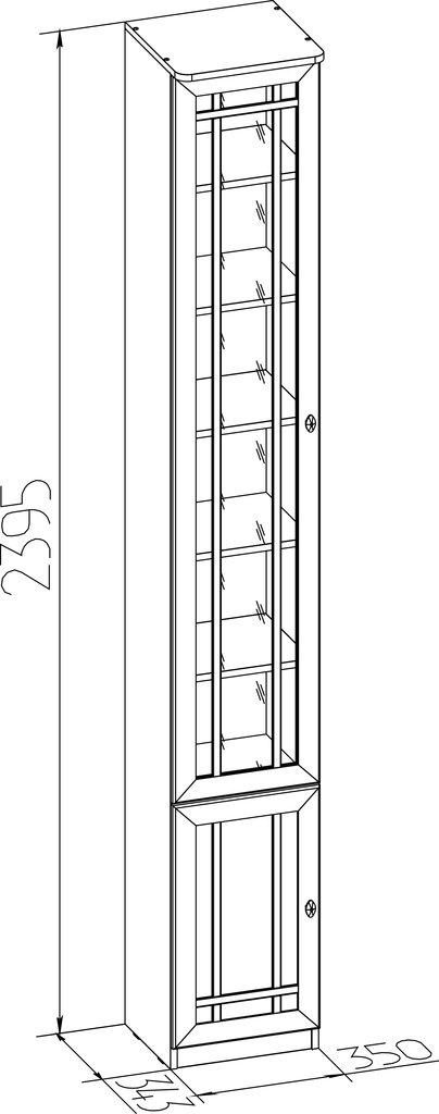 Книжные шкафы и полки: Шкаф для книг Sherlock 311 в Стильная мебель