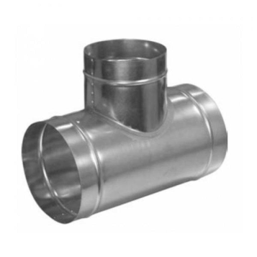 Система вентиляции: Тройник из оцинкованной стали в Теплолюкс-К, инженерная компания