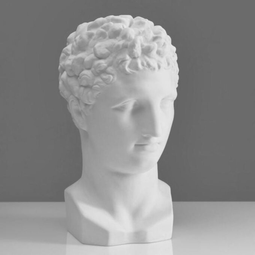 Гипсы: Голова Гермеса, гипс в Шедевр, художественный салон
