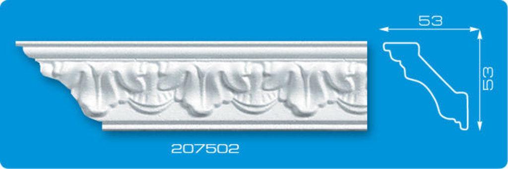 Плинтуса потолочные: Плинтус потолочный ФОРМАТ 207502 инжекционный длина 2м в Мир Потолков