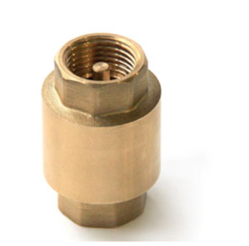 Вспомогательное оборудование: Клапан обратный д=25 латунь с мет.седлом в Аквамарин, бурение скважин на воду в Вологде