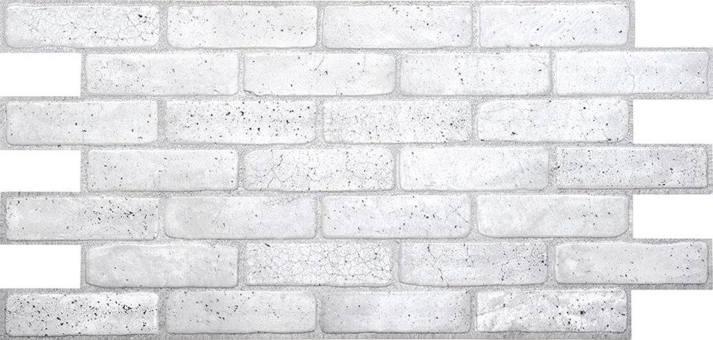 Панели ПВХ: Кирпич Старый серый в Мир Потолков