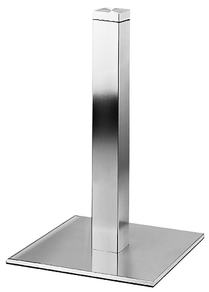 Подстолья для столов.: Подстолье для стеклянной столешницы 1267EM (нержавеющая сталь матовое) в АРТ-МЕБЕЛЬ НН