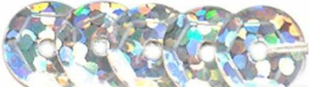 Граненые 6мм.: Пайетки граненые 6мм.,упак/10гр.Астра(цвет:50112 серебро голограмма) в Редиант-НК