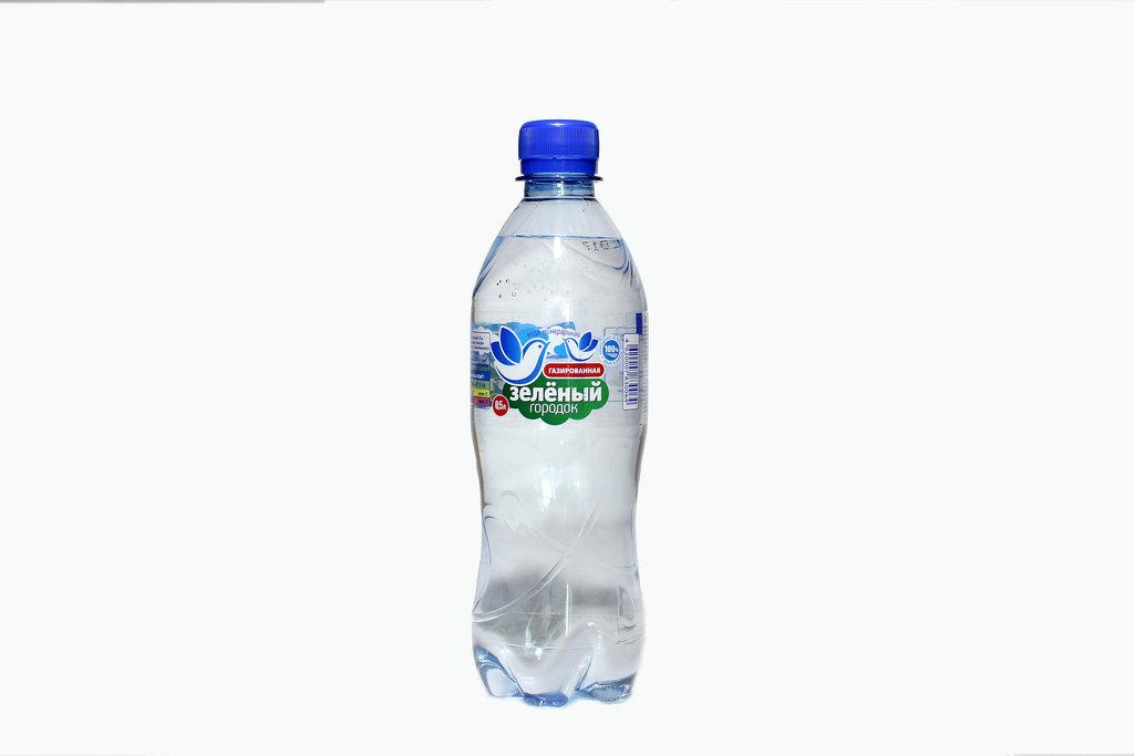 Вода 0,5 - 1,5 л: Зеленый городок 0,5 газированная в ТСК+, ООО