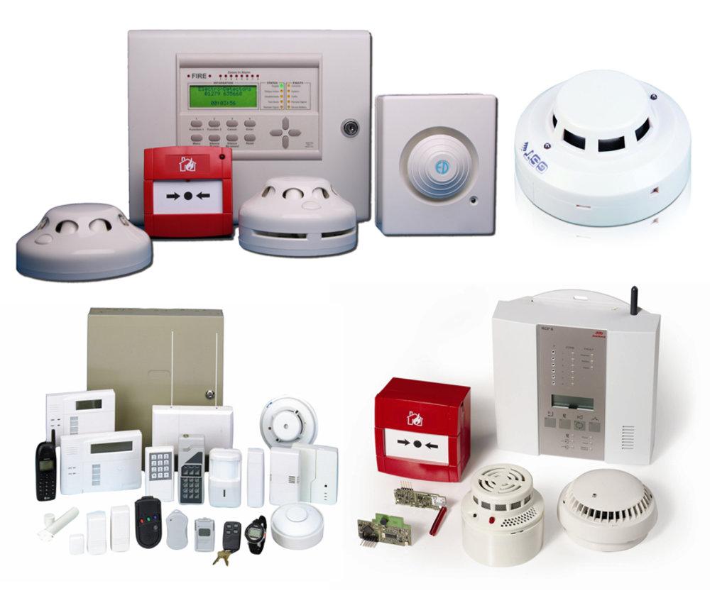 Системы сигнализации и охраны: Установка пожарной сигнализации в Эгида, ООО, частная охранная организация