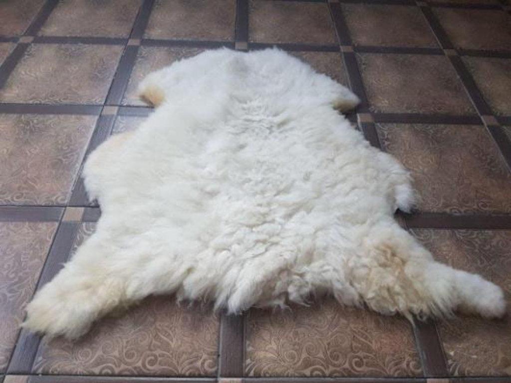 Шкуры натуральные, ковры, пледы, накидки: Шкура нестриженная овечья в Сельский магазин