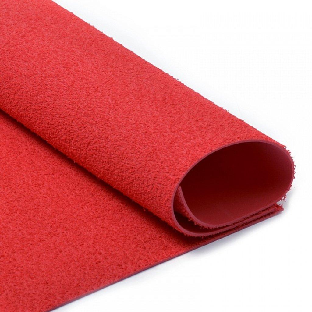 Фоамиран: Фоамиран махровый 2мм 20*30см красный, 1 лист в Шедевр, художественный салон
