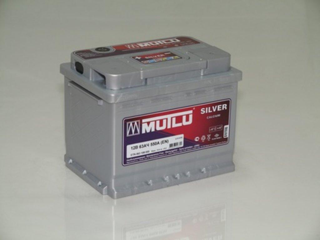 Аккумуляторы автомобильные: MUTLU SILVER 63 А/Ч L в Мир аккумуляторов