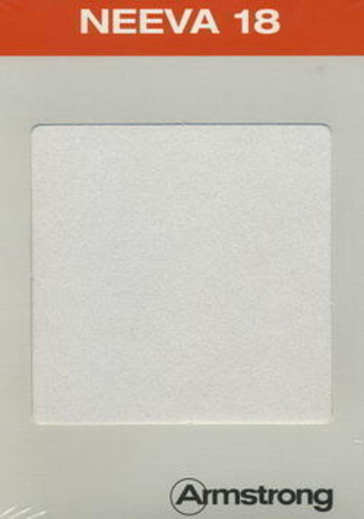 Потолки Армстронг (минеральное волокно): Акустическая потолочная панель NEEVA  White Microlook 1200x600x18 (Нива Микролук) арт.BP2424M4G в Мир Потолков