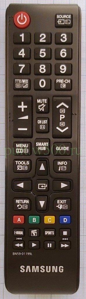 SAMSUNG: Пульт SAMSUNG BN59-01199L мал ( LCD SMART ) оригинал в A-Центр Пульты ДУ