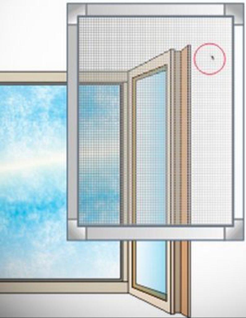 Установка пластиковых окон, дверей ПВХ: Москитные сетки в ПластЭК