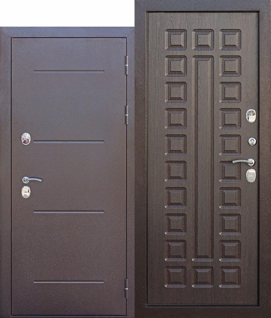 Двери с терморазрывом Isoterma: 11 см Isoterma медный антик Венге в Модуль Плюс