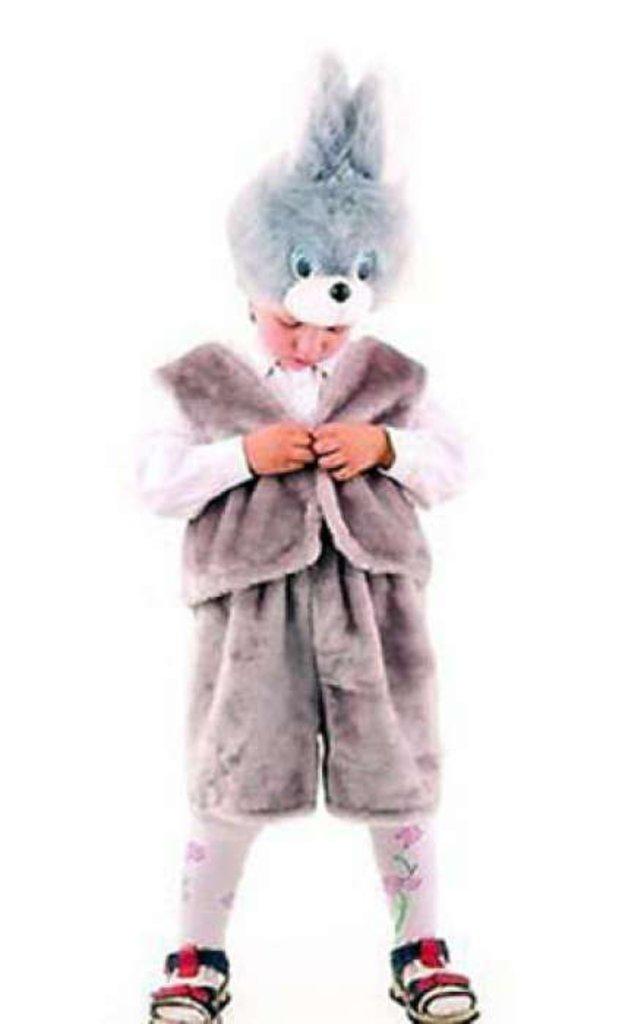 """Карнавальные костюмы детские: Карнавальный костюм  """"Заяц Серый"""" в Чиполлино,  магазин детской одежды"""