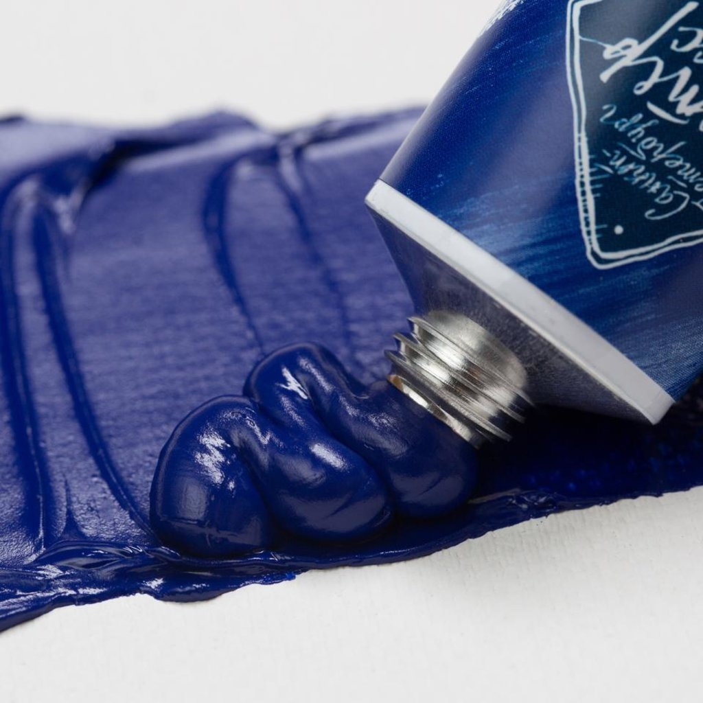 """МАСТЕР-КЛАСС: Краска масляная """"МАСТЕР-КЛАСС""""  кобальт синий спектральный 46мл в Шедевр, художественный салон"""