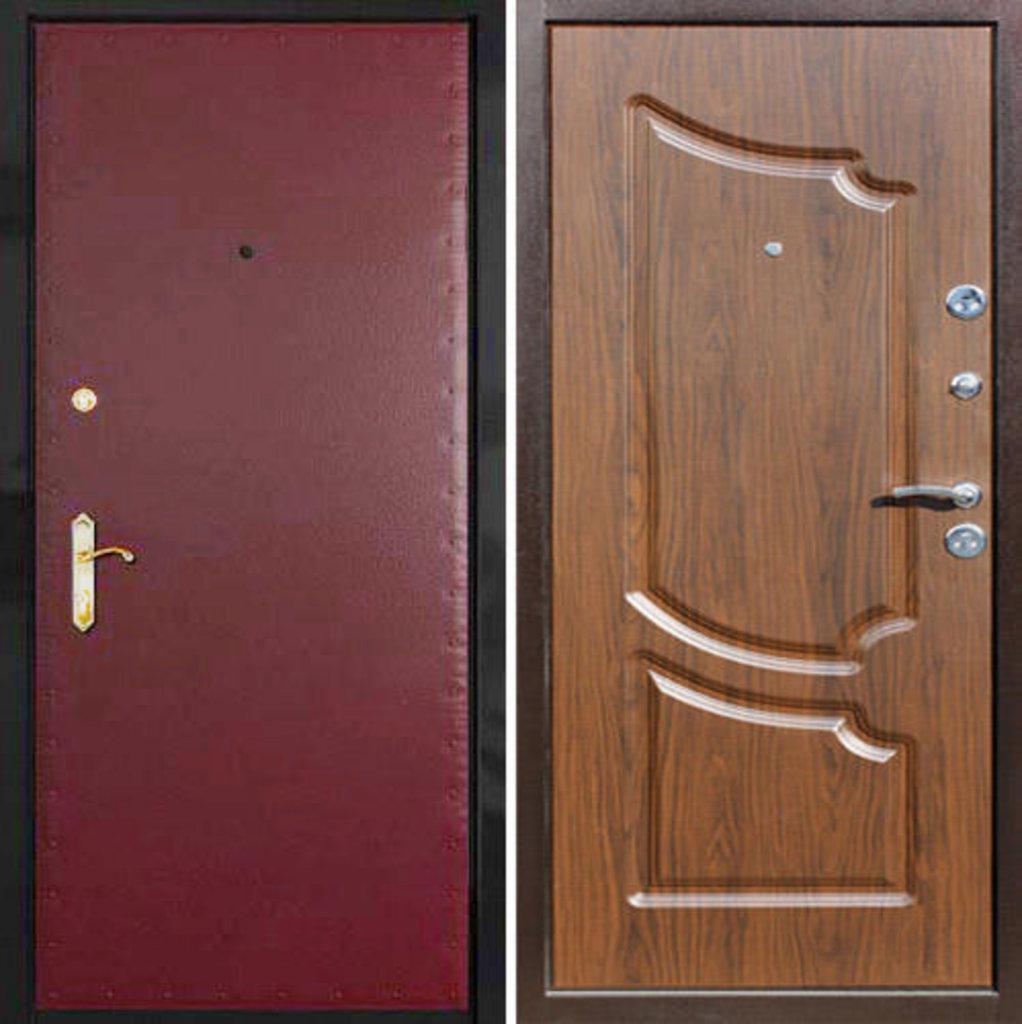 Стальные двери: Металлическая дверь Стандарт 2 в Мир дверей