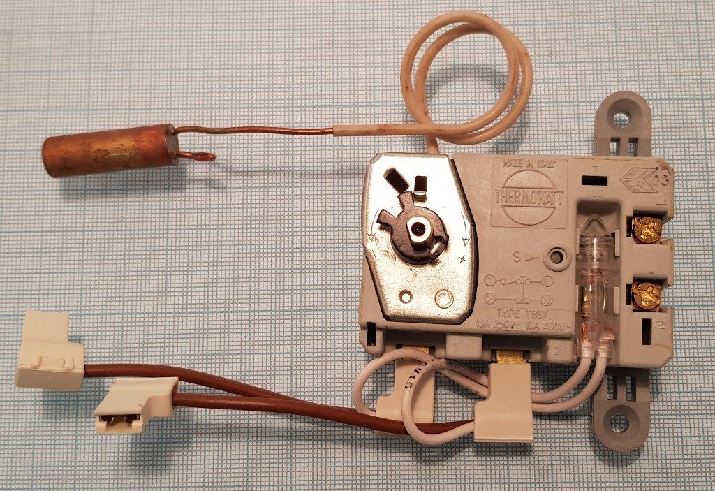 Запчасти  для водонагревателей: Термостат водонагревателя капилярный TBST-G CABL/90/M 76/94° t.3416021, 65103771, WTH420UN, t.341600 в АНС ПРОЕКТ, ООО, Сервисный центр