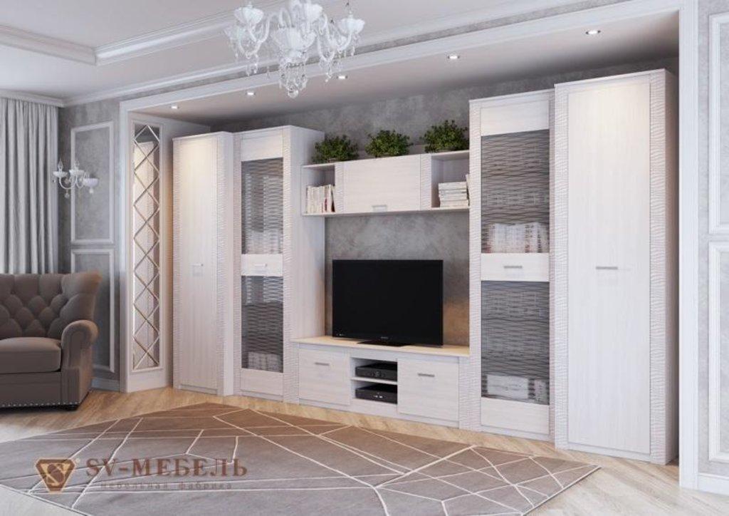 Мебель для гостиной Гамма-20: Полка навесная Гамма-20 в Диван Плюс