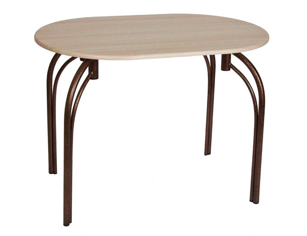 Столы кухонные.: Стол СМ (металлик, бронза) в АРТ-МЕБЕЛЬ НН
