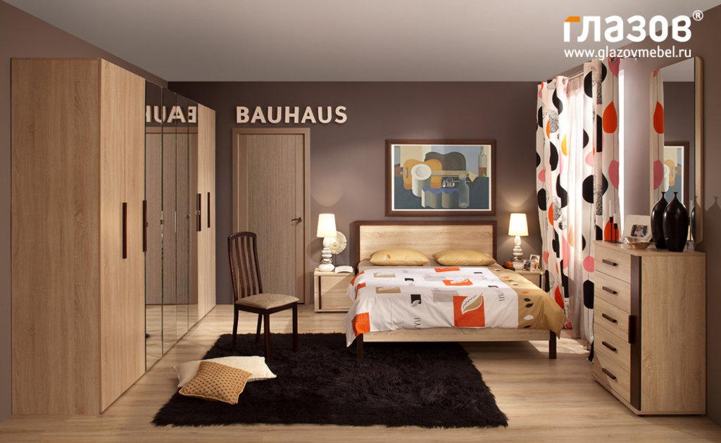 Кровати: Кровать BAUHAUS 5 (900, орт. осн. дерево) в Стильная мебель