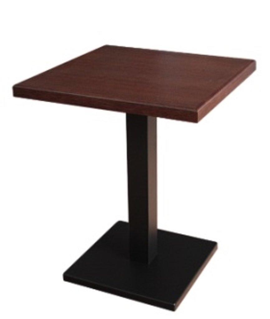 Столы для ресторана, бара, кафе, столовых.: Стол квадрат 800х800, подстолья 01 С-60 чёрная в АРТ-МЕБЕЛЬ НН
