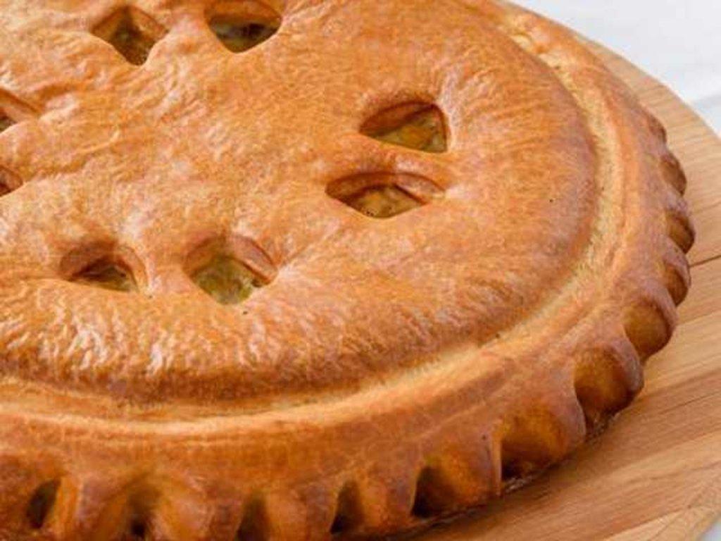 Куриные: Пирог с курицей и капустой в Провиант