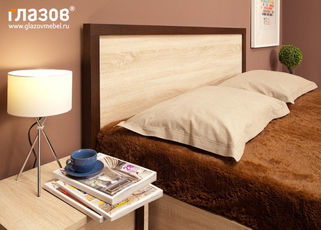 Кровати: Кровать BAUHAUS 1 (1800, орт. осн. дерево) в Стильная мебель