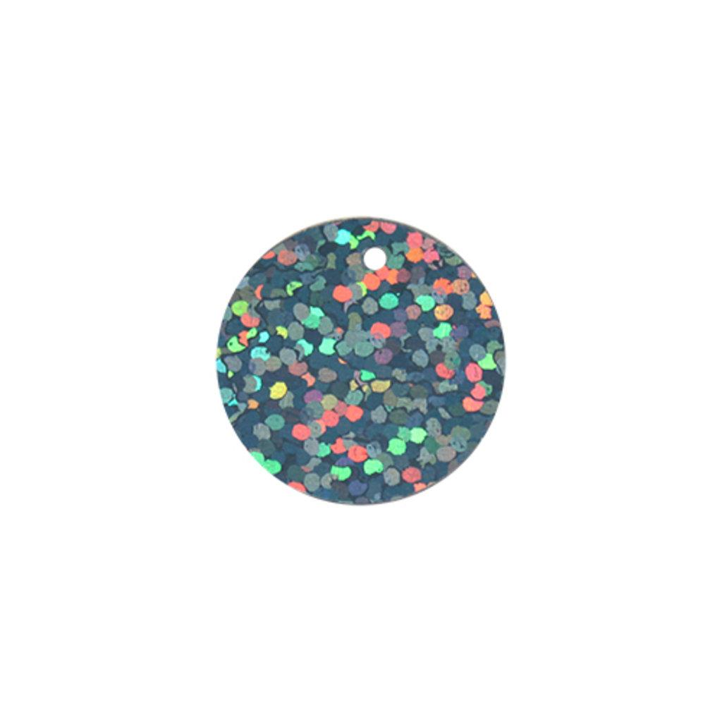 Плоские 20мм.: Пайетки плоские 20мм.,упак/10гр.Астра(цвет:50102 темное серебро голограмма) в Редиант-НК