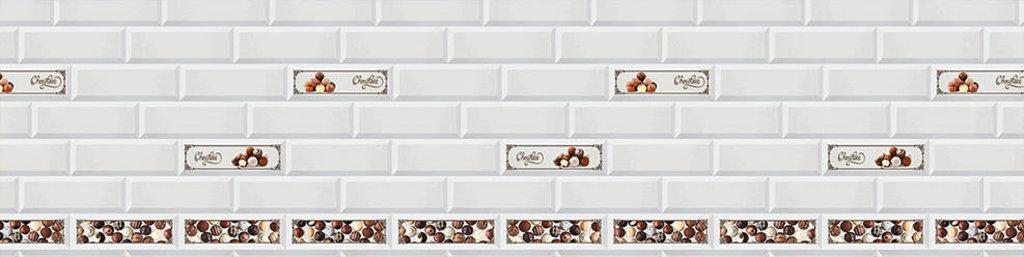 Декоративные интерьерные панели (фартуки для кухни): Интерьерная декоративная панель Керамика (3х0,6м) в Мир Потолков
