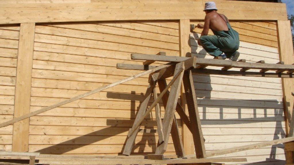 Обработка дерева: Покрытие бруса в А-Строй