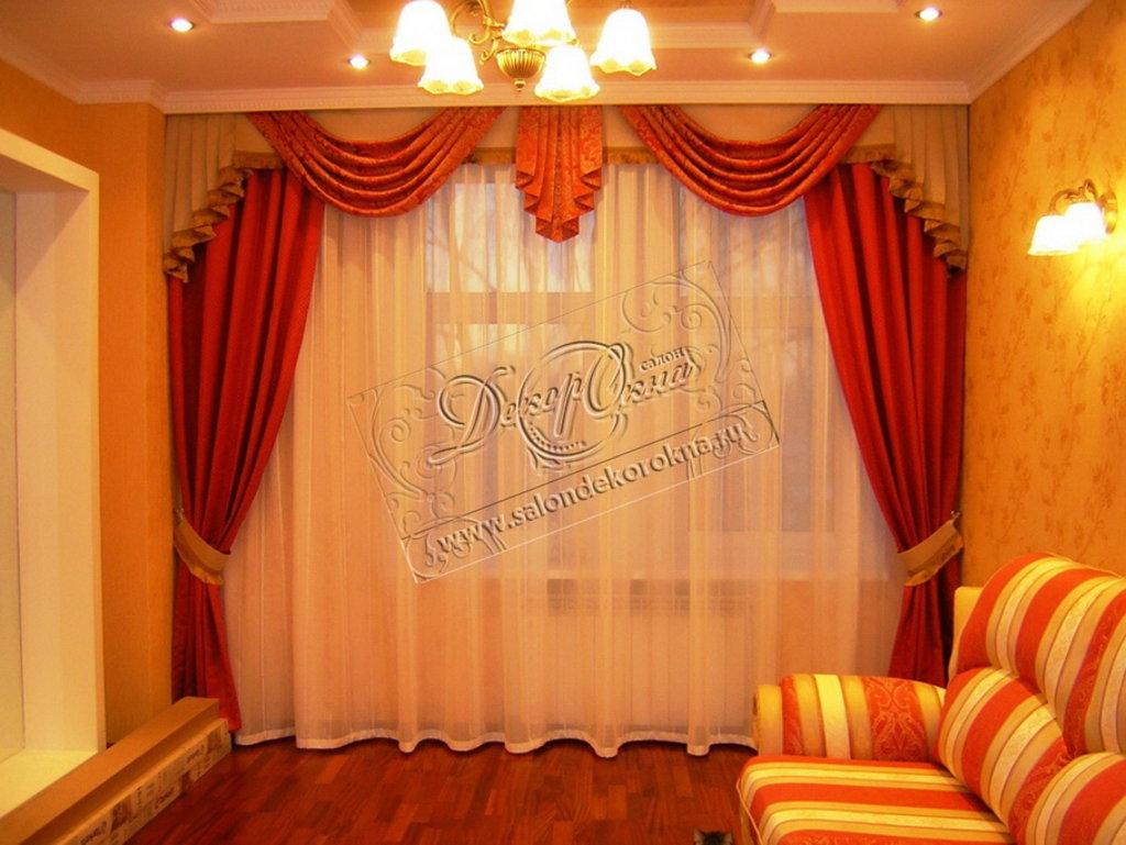 Шторы, портьеры: Классические шторы в Декор окна, салон