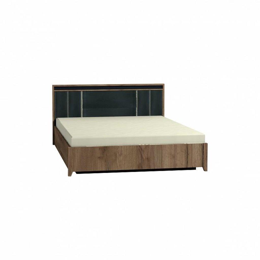 Кровати: Кровать Люкс Nature 307 (1600, мех. подъема) в Стильная мебель