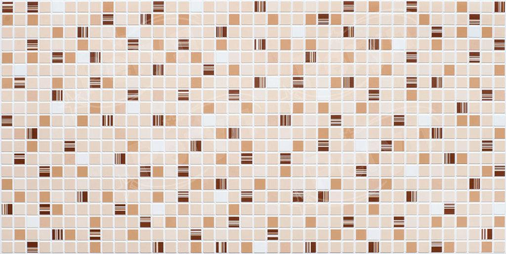 Панели ПВХ: Мозаика Кофе коричневый в Мир Потолков