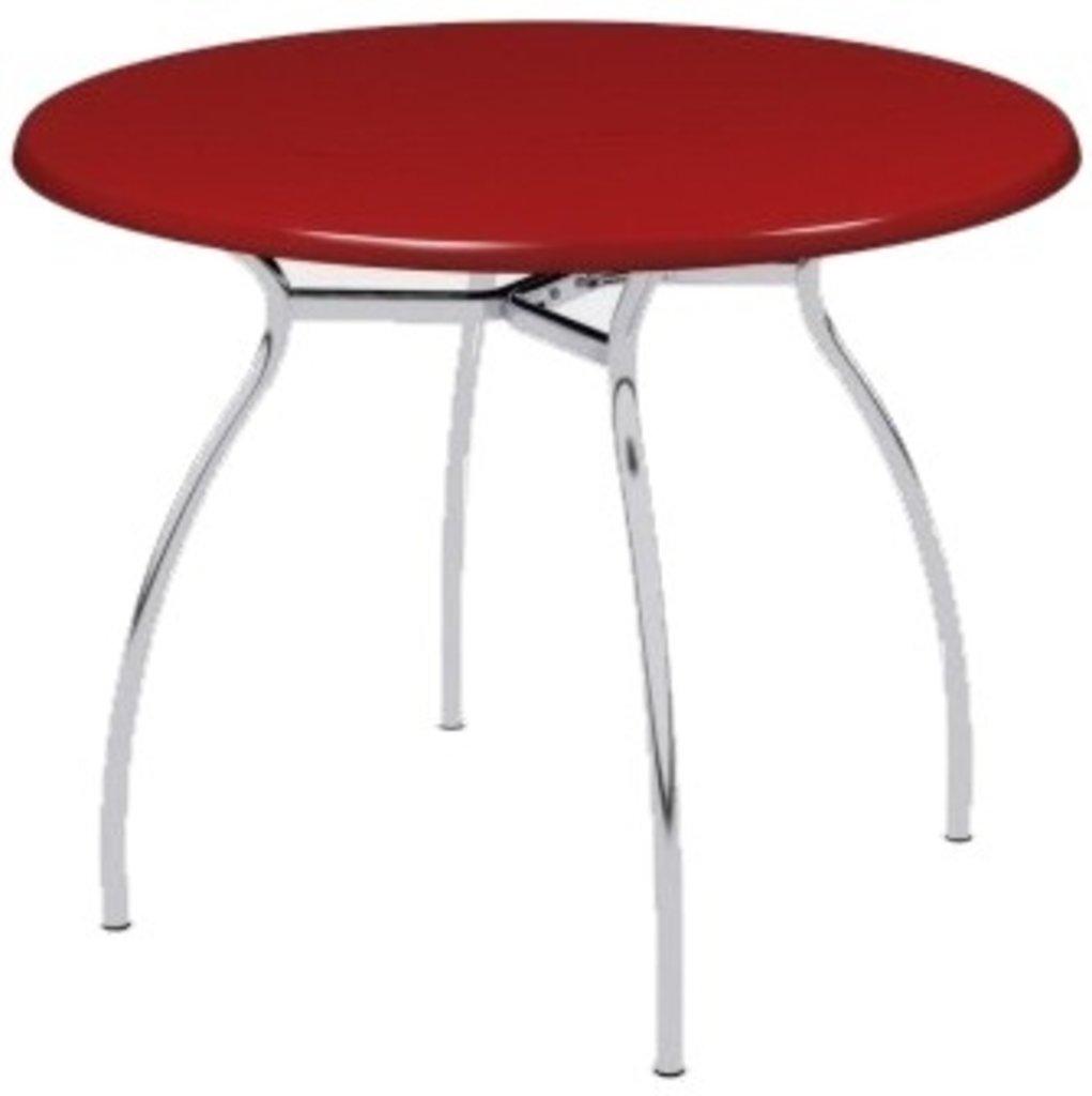 Столы для ресторана, бара, кафе, столовых.: Стол круг 65, подстолья № 7 серая в АРТ-МЕБЕЛЬ НН