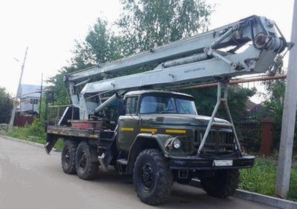 Спецтехника, общее: Автовышка АГП 22.06 на базе ЗИЛ-131 полноприводный в ПромЭнергоКомплекс