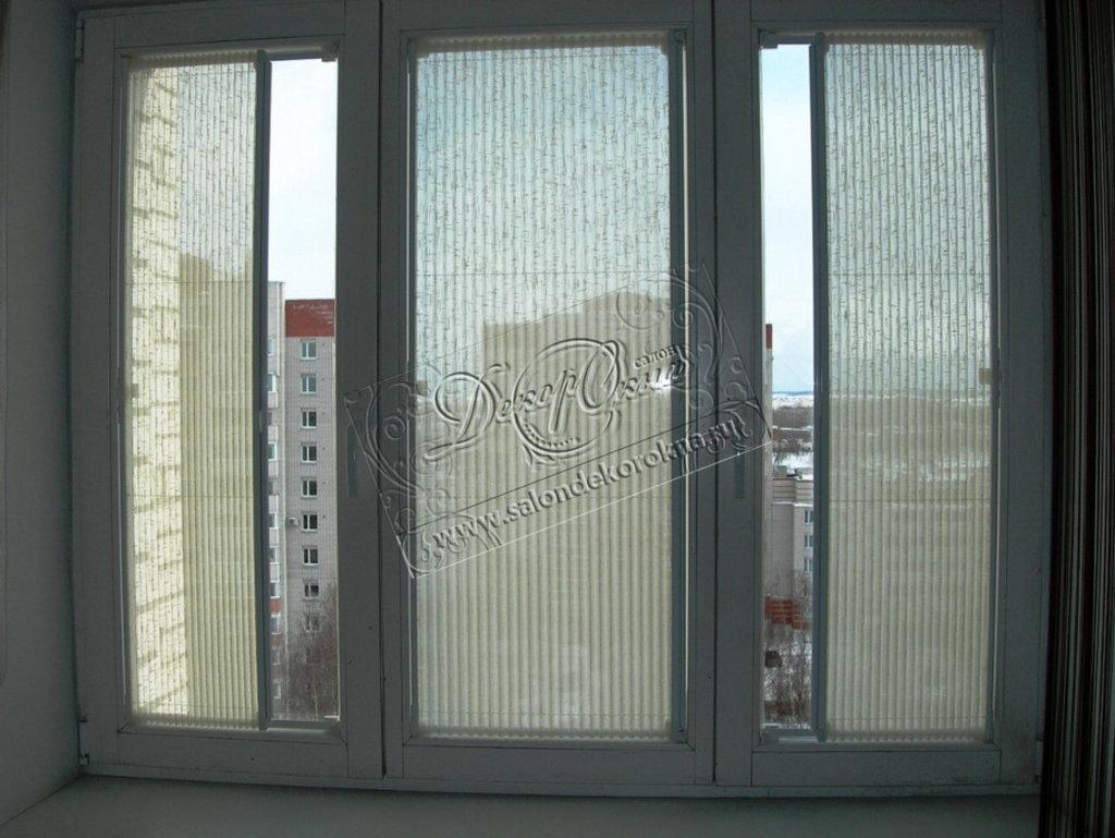 Плиссе: Плиссе вертикальное в Декор окна, салон