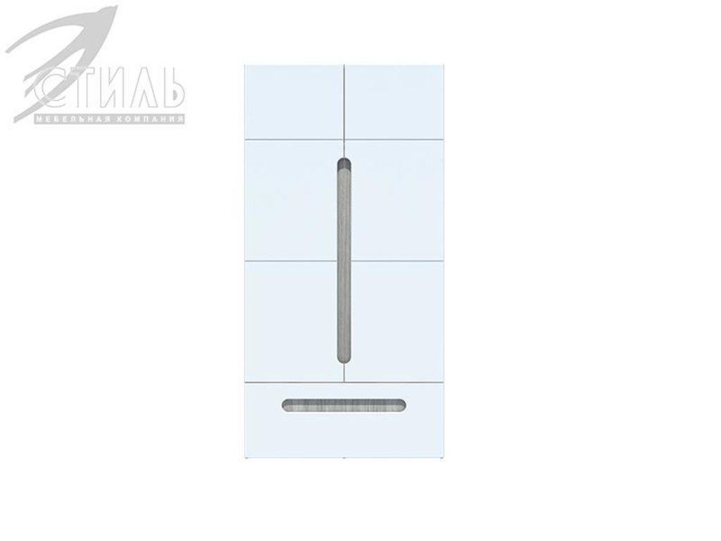 Мебель для спальни Палермо: Шкаф двухстворчатый с ящиком Палермо в Диван Плюс