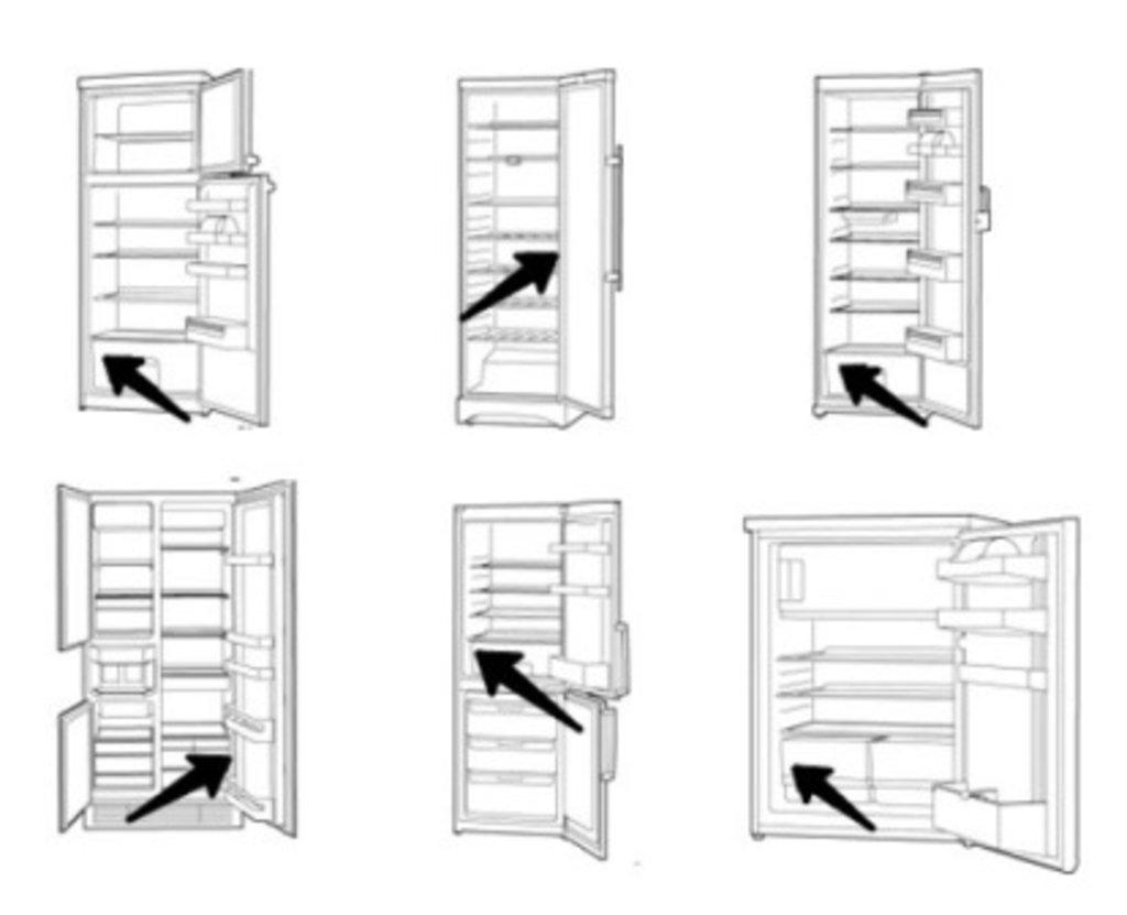 Запчасти для холодильников: Уплотнитель двери для холодильников в ассортименте в АНС ПРОЕКТ, ООО, Сервисный центр