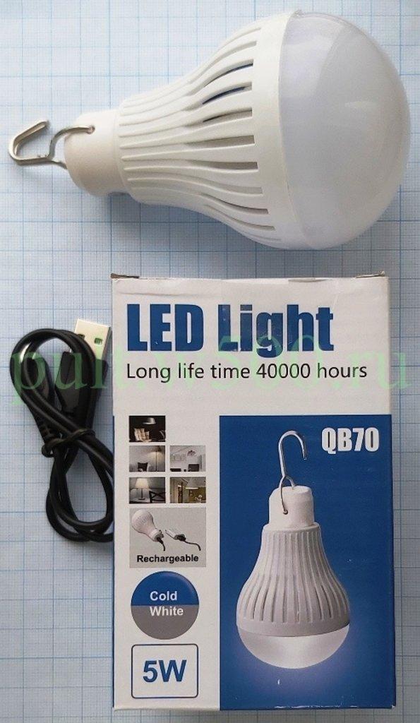 Настольные лампы, различные светильники: Кемпинговая светодиодная лампа LED, 5W ( QB70 ) в A-Центр Пульты ДУ