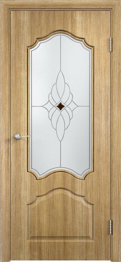 Двери Верда: Дверь межкомнатная Ирида ДО Ромб Сатинато в Салон дверей Доминго Ноябрьск