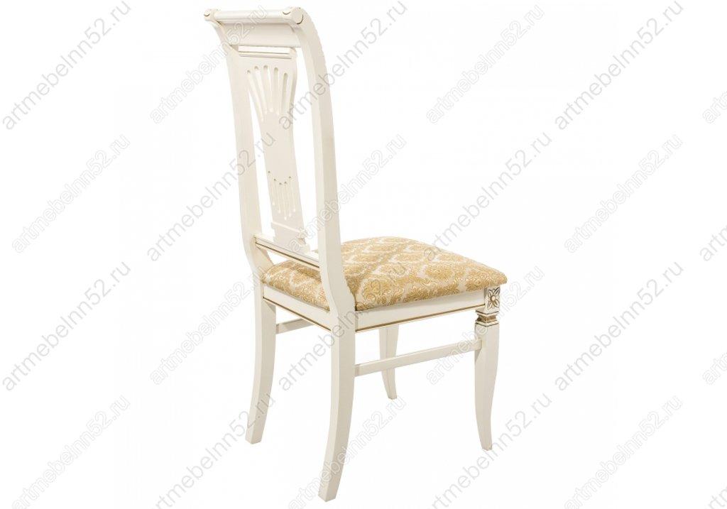 Стулья, кресла деревянный для кафе, бара, ресторана.: Стул 319275 (молочный с патиной) в АРТ-МЕБЕЛЬ НН