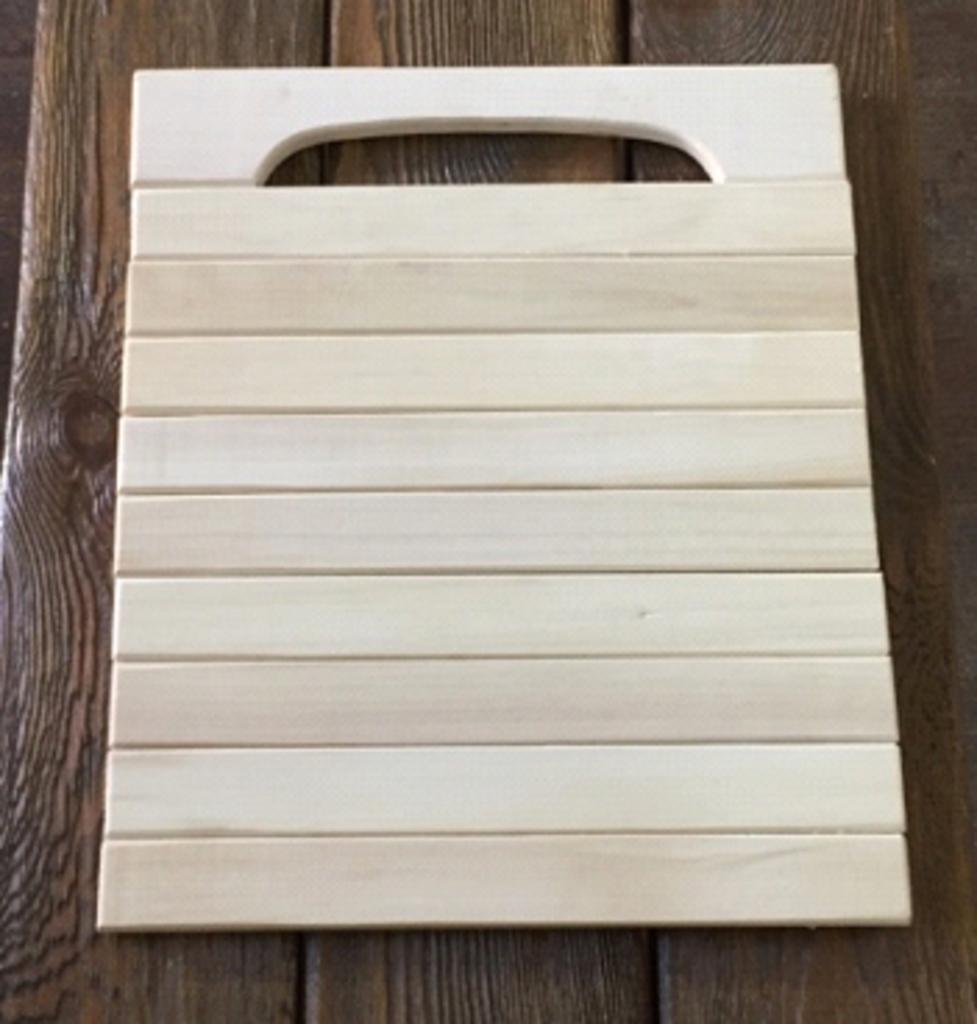 Бондарные изделия: Коврик гибкий (липа) в Погонаж