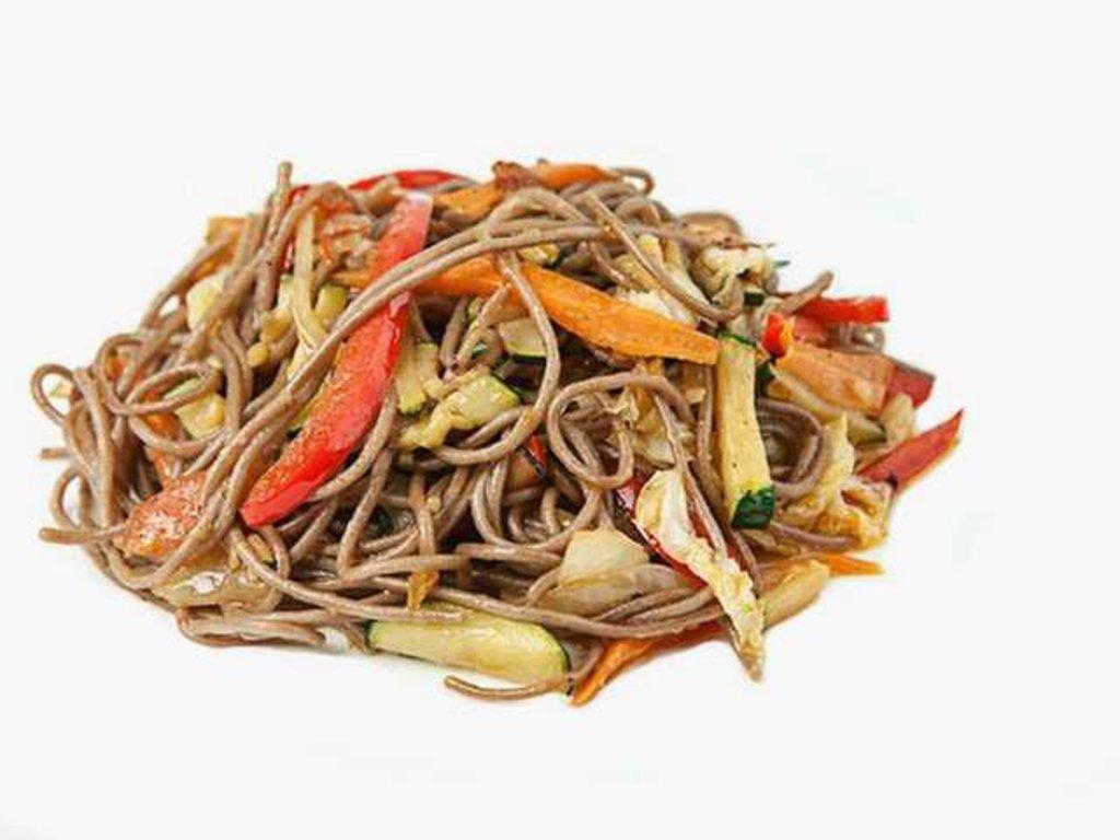 Готовый ВОК: Овощной вок терияки в СУШИ БАНДА