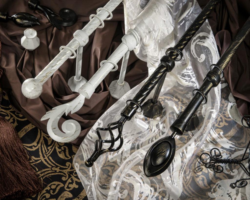 Карнизы круглые: Карнизы «Прима» в Салон штор, Виссон