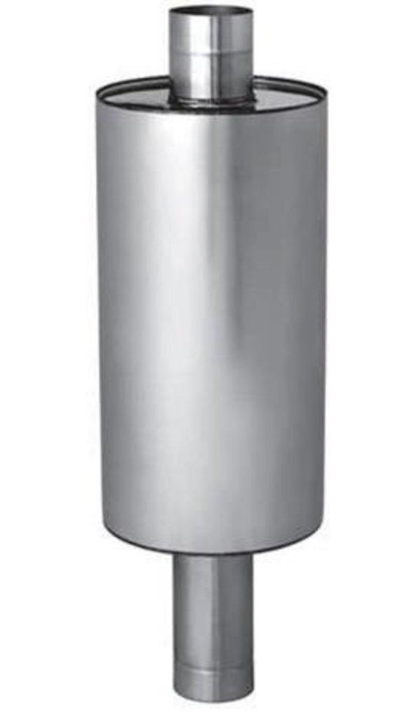 Печи и дымоходы: Бак Феррум Комфорт самоварного типа 72 л нержавеющий (AISI 201/1,0 мм) ф115 мм круглый в Погонаж
